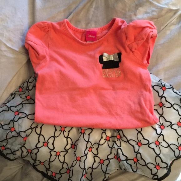 7a19c8b03 Disney Matching Sets   Minnie Mouse Tutu Girl Set Size 6   Poshmark